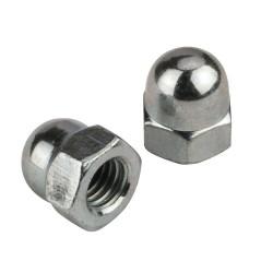 (25 pcs) 3mm Acorn Nut Stainless