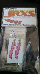 Team Losi JRXS Stainless Hardware Kit