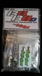 Associated B6/B6D Stainless Hardware Kit