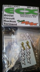 ECX Boost/Circuit/Torment/Ruckus Stainless Hardware Kit