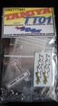 Tamiya TT01 Stainless Hardware Kit