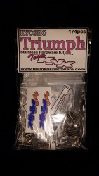 (174 pc) Kyosho Triumph Stainless Hardware Kit