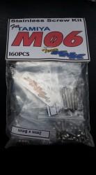 (160 pc) Tamiya M06 Stainless Hardware Kit