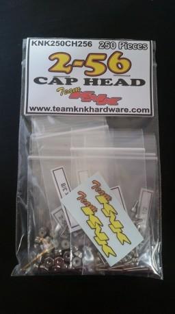 (250 pcs) 2-56 Cap Head Bulk Bag