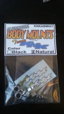 Aluminum Body Mounts Natural