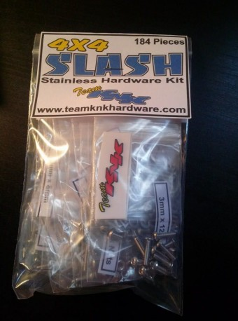 (184 pcs) Traxxas Slash 4wd