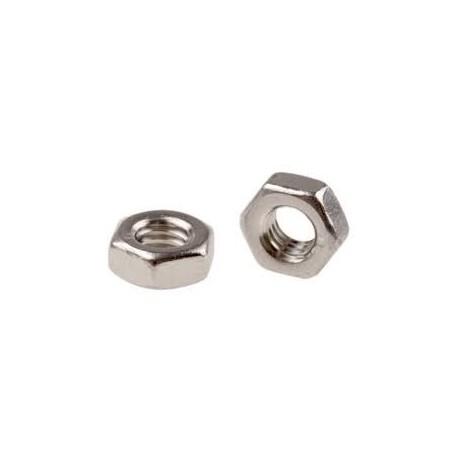 (100 pcs) 2mm Machine Nuts