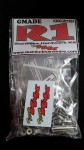 (350 pcs) Gmade R1 Stainless Hardware Kit